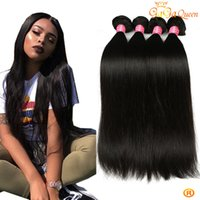 8a Brazilian Straight Virgin Hair Não processados ​​Cheap Remy Human Hair Bundles Brazilian Indian peruvian Virgin Hair Straight Weave