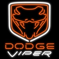 """Wholesale auto stores - Dodge Viper Neon Sign Custom Handmade Real Glass Tube Auto Dealerships Auto Mechanics Oil Lube Store Advertising Display Neon Signs 20""""X24"""""""