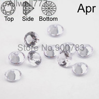 Wholesale Rhinestone 5mm - Wholesale- Higher quality 5mm rhinestone floating locket charms,Cupid stone,April charms