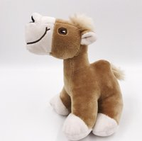 Wholesale gift factory stuff toys - 1pcs cm New Children s gift Stuffed Toy Plush Camel Creative Toy Cute Toys Factory Direct sales