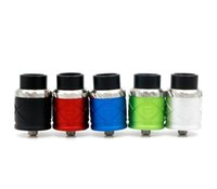 Wholesale royal hunter atomizer for sale - Group buy NEWEST Royal Hunter X RDA Rebuildable Dripping Atomizer Colors Peek Insulator Adjustable Airflow Control Fit E Cigarette Mods DHL Free