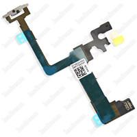 ingrosso pulsante di alimentazione iphone flex dhl-100% Nuovo pulsante di accensione e spegnimento Interruttore Flash Flex Cable Parte di ricambio per iPhone 6 6Plus iPhone 6s 6sPlus DHL gratuito