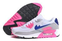 Wholesale Women Royal Blue Top - Cheap Sale 90 Mesh Running Shoes For Women Top Quality Fashion Cushion Sneakers Woman Sport Athletic Trainers Size 36-40