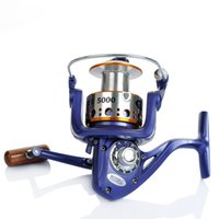 4000 5000 6000 9 + 1BB 5.2: 1 carpa bobina di filatura mulinello da pesca Full Metal Cap linea con Grapphite Spool Tackle
