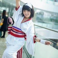 ingrosso yukata-Costumi cosplay Noragami Nora Kimono Yukata Anime giapponesi Noragami abbigliamento Masquerade / Mardi Gras / Costumi carnevale