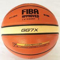 5774edf5238b8 Haute Qualité Basketball Fondu GG7X Taille 7 PU Matériel Basket Ball Ball  En Plein Air À L'intérieur Formation Ball Livraison Gratuite