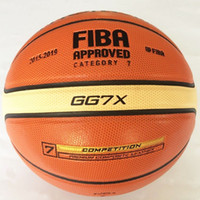 Wholesale Indoor Material - High Quality Molten Basketball GG7X Size 7 PU Material Basketball Ball Outdoor Indoor Training Ball Free Shipping
