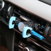 samsung handy montierthalter großhandel-Universal 360 Grad Auto Windschutzscheibenhalterung Zelle Handy Clipper Fahrzeug Swivel Mounts Halter Halterung steht für Iphone 6 7 Samsung LG