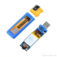 Wholesale lighter camera dvr - Portable Lighter Spy DVR Hidden Camera Cam Camcorder USB DV Digital Video Recorder New sale Free Shipping
