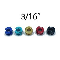 """Wholesale Wholesale Arrow For Crossbow - 5 Color 3 16"""" Hunting Archery Aluminum Peep Sight for Compound Bow Crossbow"""
