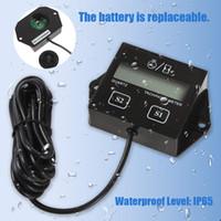 Wholesale Digital Tachometers For Cars - IP65 Waterproof LCD Display Digital Tachometer Hour Meter for Motorcycle Boat Car Engines CEC_906