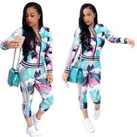 Wholesale Womens Running Xl - Newest Women Sexy Ladies tracksuits Tops Pants Women Two- Pieces Set Sportwear Woman Dresses Womens Sports