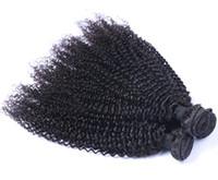en kaliteli atkı saç uzantıları toptan satış-En Kaliteli Bakire İnsan Saç Uzantıları Örgüleri Kinky Kıvırcık Saç Atkı Malezya Kinky Kıvırcık Işlenmemiş Saç Paketler Çift Atkı