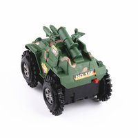 Wholesale Military Car Models - Electric flash stunt skip in tank military model toys simulation model car