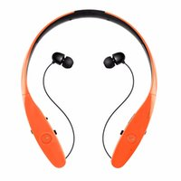 Wholesale Iphone Headphones For Sale - Factory Sales HBS-900 Wireless Bluetooth 4.0 Neckband Style Headset Sport Stereo Headphone Earphone for LG Iphone samsung + retail package