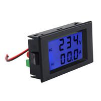 Wholesale Dual Resistor - Professional Dual Display Digital AC Volt Amperemeter Voltage Panel Meter+Current Sense Resistors 100A 300V 110V 220V
