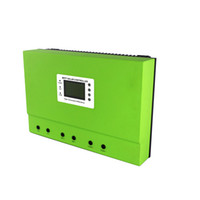 Wholesale Solar Charge Controller Rs232 - Master-B MPPT 40A 50A 80A DC 48V 96V solar system charge controller with RS232  LAN or RS485 LAN self-cooling heatbarrier