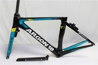 Wholesale Carbon Race Frame - 2017 Newest Astana T1000 Carbon Road Frame UD Racing Bicycle Frame Racing Bike Frame+Fork+Seat Post+Headset+Brakes+BB Adapter Size XS,S,M,L