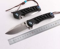 AGKS STRIDER PE668 9CR18MOV Lâmina G10 CORDA Handle OEM EDC Folding Pocket Knife Camping Hunting Outdoor Táctica Gift Knives Utility Tools