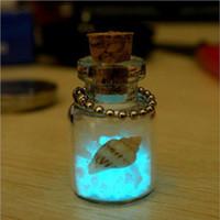 diy isteyen şişe kolye toptan satış-Yaratıcı diy küçük süsler Japonya set Okinawa aşk gece lambası kum telefonu zinciri aydınlık dileğiyle şişe kolye toptan ücretsiz kargo