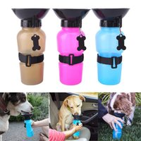Wholesale Drink Bottles Dog - Portable Auto Dog Mug Pet Dog Out Drinking Water Cup Feeder Pets Drinking Water Bottle For Dogs on the Go