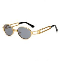 vintage klare rahmenbrille großhandel-ROYAL MÄDCHEN 2017 klare linse gold metallrahmen gläser runde frauen vintage brillen rahmen für männer männliche ss158