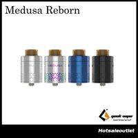 Wholesale access building - Authentic GeekVape Medusa Reborn RDTA Atomizer with 3.5ml e-Juice Capacity and Quick Access System & Optimized Build Deck