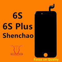 Wholesale Touch Screen Panel Replacement Parts - For Black & White iPhone 6S iphone 6S Plus Grade A+++ Shenchao LCD Touch Screen Display With 3D Touch Assembly Replacement Part