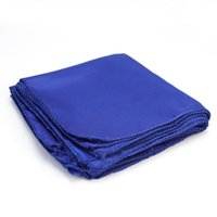 Wholesale Wholesale Polyester Dinner Napkins - Wholesale- 10x Wedding Party Banquet Dinner Polyester Fabric Cloth Napkins Restaurant Home Table Decoration Navy Blue
