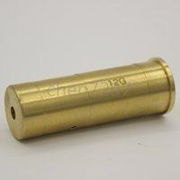 Wholesale Bore Laser 12 - shotgun calibration 12 Gauge Cartridge Laser Bore Sighter Boresight 12GA & Red Laser Outdoor hunting Free Shipping