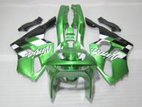 Wholesale 94 ninja plastics for sale - Group buy Bodywork plastic Fairing kit for Kawasaki Ninja ZX6R green black motorcycle fairings set zx6r OT28