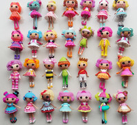 Wholesale Wholesale Lalaloopsy Mini Dolls - Lalaloopsy Baby Dolls Action Figure Toys Girls Bonecas Birthday Gift Cake Toppers Random Brinquedos Juguete