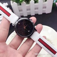 Wholesale bling watch men - Bling Luxury brand men's watches Leather strap Quartz Wristwatches Automatic Date watch For men boy best gift Clock Relogio Masculino 2017