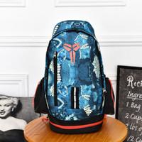 Wholesale Denim Backpacks For Women - Fashion KOBE Men Backpacks Basketball Bag Sport Backpack School Bag For Teenager Outdoor Backpack Marque Mochila