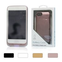 Wholesale Power Case For Mobile Phones - 2017 Portable 3200 mah Power Bank Case Mobile Phone external battery case For iphone 7plus 7 6S 6