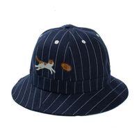 Wholesale Fun Christmas Hats - Fun Foldable Bucket Hats With Cartoon Cat Fishing Hat Bucket Hats Lover Casual Sun Cap Outdoor Fisherman Caps