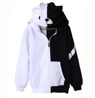 Wholesale Kukucos Anime Danganronpa Monokuma Unisex Clothing Casual Cosplay Sweatshirt Hoodie Costume Lovely Coat For Jung People