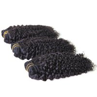 Wholesale 5a Indian Curly Weave - RXY products 5a indian kinky curly virgin hair 8-32 inch 3pcs lot kinky curly weave free shipping brazilian hair kinky curly hair extensions