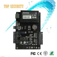 панель управления доступом tcp ip оптовых-Оптовая продажа-C3-100 Толковейшая система управления aceess пульта управления доступом ОДН-двери двухсторонняя с TCP / IP RX232 / 485