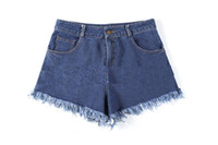 Wholesale Cowboy to high waisted shorts The seaside leisure pants all match new spring and summer ouc317