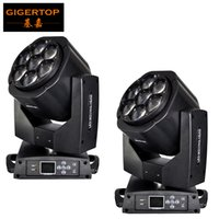 Wholesale Eye Controller - TIPTOP 2XLot TP-L672 7*15W RGBW 4in1 Mini Bee Eye Zoom Moving Heads DMX Controller DJ Lights Led Moving Heads LCD Display