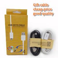 câble auxiliaire micro usb achat en gros de-Câble micro USB pas cher mini micro V8 1M 3FT Câble de synchronisation de données Câble de charge TYPE-C avec boîte de vente au détail pour huawei lg S10 S8 NOTE 10