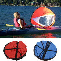 Wholesale Durable Kayak for fishing sailing boat accessories marine Wind Sup Paddle Board Sail with clear window