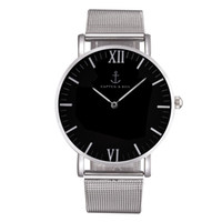 Wholesale Men Fashion Watches Wrist - Fashion KAPTEN & SON Brand women men Unisex steel metal band quartz wrist watch