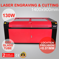 Wholesale Co2 Laser Engraving Cutting Machine - 130W CO2 LASER ENGRAVING MACHINE CO2 LASER ENGRAVER ENGRAVING CUTTING MACHINE 1400X900MM USB PORT