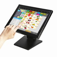 Wholesale Lcd Monitor Computer Screen - Wearson POS Monitor Display 15 inch Touch Screen LCD Monitor Computer Display With Heavy Stand