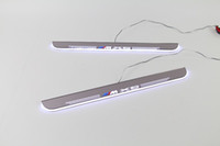 Wholesale Door Sill Bmw - eOsuns LED moving door scuff Nerf Bars & Running Boards door sill for BMW X5 E70 2007-2012, moving light