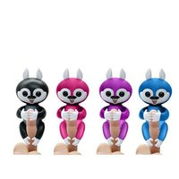Fingerlings Finger Monkeys Unicorns Scoiattoli Panda bradipi Giocattoli di peluche Baby Bambini Interactive Finger Panda Colorful Packing Box Regali