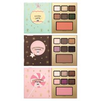 Wholesale Hotel Shadow - T Faceed Eyeshadow Palette Grand Hotel Cafe Eye Shadow Christmas Limited Edition Eye Shadow Palette 3 Style MOCHA COOKIE LATTE Eyes Makeup