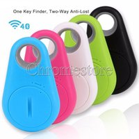 Wholesale Lost Dog Tracker - Key Finder iTag Anti Lost Alarm Bluetooth Wireless Smart Tracker Tracer Locator Tag Alarm Wallet Key Pet Dog Selfie Timer For IOS Android